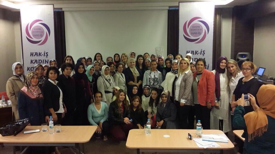 Hak- İŞ Kadınlar Komitesi Trabzon Eğitimi