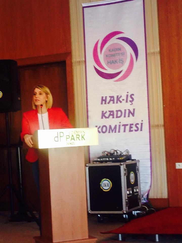 HAK-İŞ Kadınlar Komitesi DENİZLİ eğitimi 2014